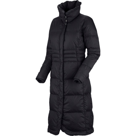 Whether you live in the high plains of Colorado or the skyline of Chicago, the Mountain Hardwear Women's Allston Down Coat offers burly protection from frigid temperatures. This coat is a neck-to-knee barrier of cold-stopping goose down that will keep you warm when you venture out into the chill. - $197.97