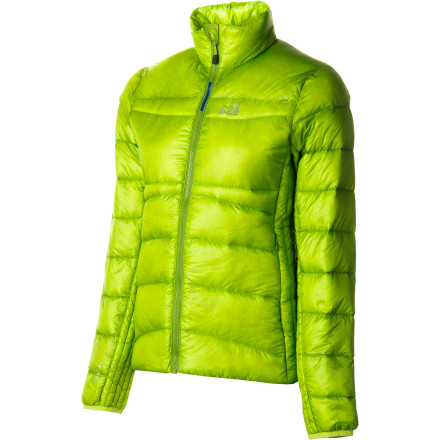 Ultralight and lively, the super-warm Millet Women's Heel Lift Down Jacket can go it alone or with a companion shell for cozy winter comfort. Its 800-fill down insulation is so lofty and warming it's hard to believe it compresses down to fit inside its own pocket. Smooth, sleek, high-tech warmth you can take to-go. - $167.27