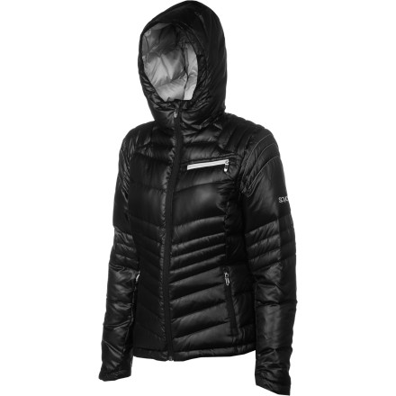 When it hurts a bit to inhale and your car takes fifteen minutes to warm up, get into the Spyder Women's Timeless Hooded Down Jacket and protect yourself from the bitter winter chill. Fitted with 700-fill down insulation, the Timeless stands between you and the icy air to keep you toasty and warm. - $123.72