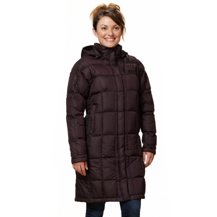 Some mornings the wind comes whipping through the buildings like a runaway subway train. It's a good thing that you have The North Face Women's Metropolis Parka to hold back the onslaught. With head-to-knees windproof protection and 600-fill down insulation, the Metropolis can keep that nasty wind at bay. - $223.97