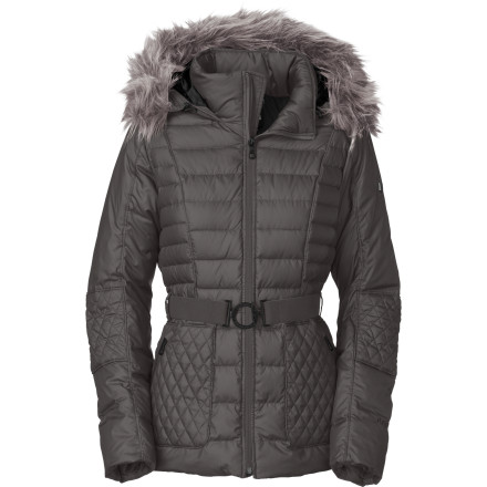 Hunting Spice up your winter wardrobe with The North Face Women's Parkina Down Jacket. Feminine details and fit ensure you don't look like an overstuffed turkey while you strut down 5th Avenue. - $258.97