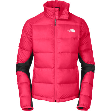 Climbing Loaded with 600 fill-power down insulation and Polartec Power Stretch panels, The North Face Crimptastic Jacket is ready to keep you warm without limiting any mobility. Plus the Crimptastic shines as an outer layer and as an insulating mid-layer, which makes it useful from late-fall climbing sessions to midwinter days on the hill to early spring tours. - $136.92