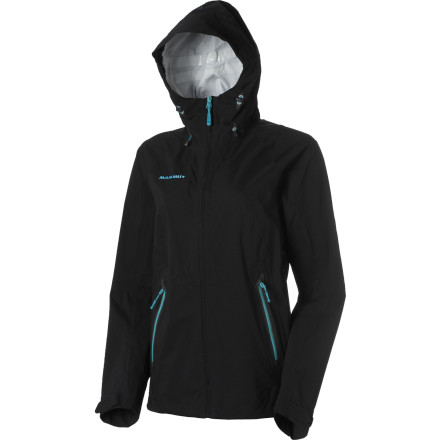 With its tough waterproof breathable fabric and climber-friendly cut, The Mammut Women's Keiko Jacket can turn the stormy alpine environment into a slightly less brutal place. - $114.48