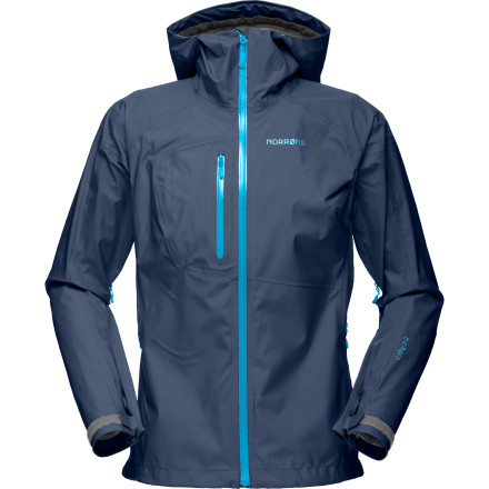 Fitness Built to be cardio-specific, the Norrna Women's Bitihorn Gore-Tex Active Shell Jacket caters to the alpine adventurer who refuses to stop every half mile to adjust layers. The Bitihorn boasts design features and intuition to make it the go-to active shell in your adventure wardrobe. Stuff it in your daypack before a trail run under questionable skies, or bring it on your next river trip through the Tavaputs plateau. - $373.07