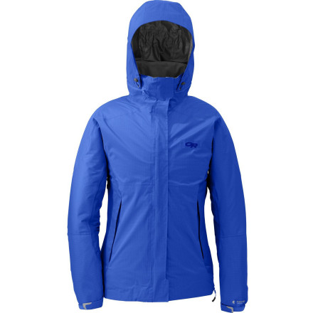 Everyone loves options, which is why everyone loves the stretchy, superversatile, three-in-one Outdoor Research Women's Reflexa Trio Jacket. Wear the weather-fighting, lightweight, durable shell on its own when you're rolling lean and mean; couple it with the efficient, lofty insulative liner when the temps plummet and the winds roll in; go with the liner alone when kicking it in the cabin or by the campfire or when you're shredding on mild bluebird days. - $164.42