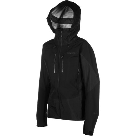 Patagonia Women's Triolet Jacket relies on Gore-Tex Performance Shell to deliver tough waterproof breathable protection from high alpine weather. Three-layer construction sandwiches a Gore-Tex membrane between the tough nylon outer face and robust inner lining, ensuring that you stay high and dry on stormy days. - $199.50