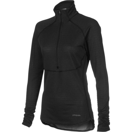 Ski Dont worry about the cold with the Patagonia Womens Capilene 4 Expedition Weight Zip-Neck Top. This heat-trapping baselayer is great for wearing underneath your ski or snowboard jacket when you have to deal with frigid temperatures. It's even tough enough for overnight tours at altitude when conserving body heat is key not just crucial to your comfort but to your survival. - $99.00