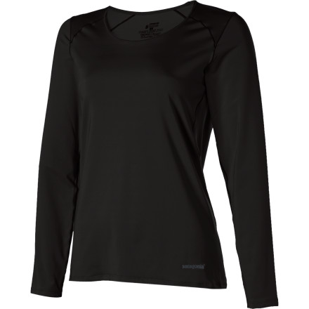 Your body is busy keeping you moving, regulating your breathing, and taking in and processing all of the beautiful things around you. Help your body keep you ccol and comfortable by wearing the Patagonia Women's Capilene 1 Silkweight Stretch Long-Sleeve Crew. - $35.00