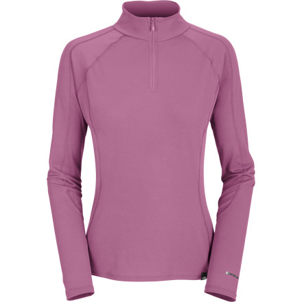 Ski When you're ski touring or snowboarding in the spring, you usually run a little hot. The North Face Women's Light Zip-Neck Top provides a lightweight layer of quick-drying insulation for your milder and more mobile days on the mountain. Its FlashDry technology ensures efficient breathability and quick-drying performance, and the zipper can help dump excess heat during sunny skin tracks or halfpipe sessions. - $34.97
