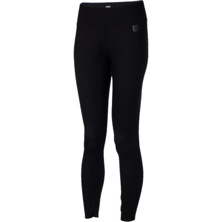Snowboard On those extra-cold days, tap into the power of natures best insulator with the Burton Womens Wool Pant. This baselayer bottom combines the wicking, quick-drying properties of Dryride synthetic fibers with the natural temperature-regulating and odor-blocking benefits of wool. - $50.97