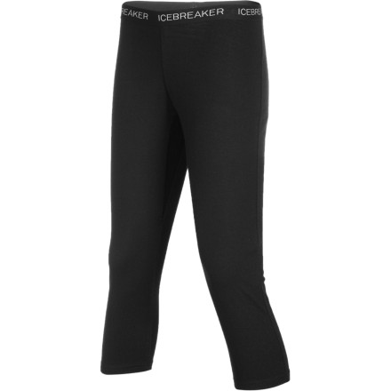 It's smooth, soft merino wool fabric will have you falling in love with the Women's BodyFit 260 Legless Bottom after your first day. Icebreaker gave this baselayer bottom 3/4-length legs so there's no fabric to bind up under your boots and chafe your shins at the resort. Make this the first layer you put on when you're planning a long day out in the cold. - $51.97