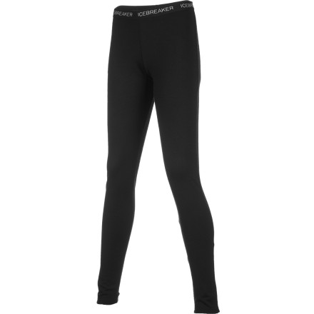 You just can't go wrong with the Icebreaker Women's BodyFit 260 Leggings beneath your shell pants, thanks to its unique fabric. Merino keeps its heat-retaining properties when wet, fends off body odor, offers excellent warmth without bulk, and rivals synthetics in breathability. Plus, this midweight baselayer keeps you exceptionally cozy in cold temperatures. - $62.97