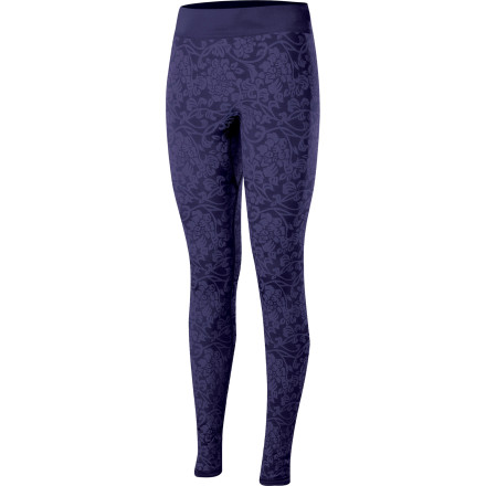 Ski Whether you slide the Isis Women's Chantilly Long Jane Bottom beneath your snow pants or your shell, rely on its lightweight warmth and comfort while you cross country ski, snow shoe, or hike. - $41.27