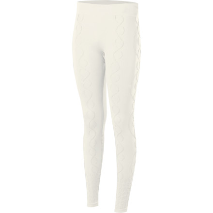 Slide your skier booty into the Isis Women's Cable Tights and revel in their comfort, full range of motion without binding, and stellar feel. - $37.92