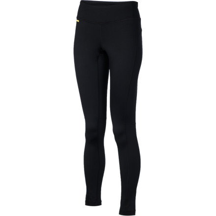 Ski Why sit inside when you have the Lole Women's Glorious Pant to warm your legs on a cold bluebird day' This pant has a stretchy, smooth exterior and a brushed, fuzzy interior for warmth, moisture-management, and quick-dry performance while you cross country ski, trail run, or snow shoe. - $42.22