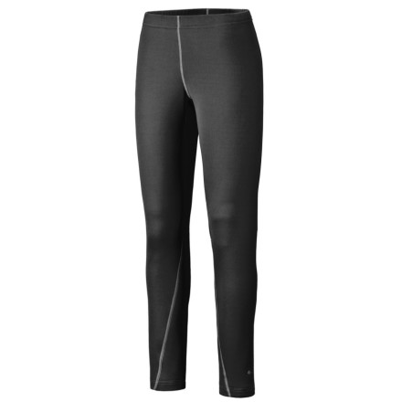 Fitness The Mountain Hardwear Micro Power Stretch Full-Length Tight provides soft, wicking, and warm coverage for your legs, either under a shell on a wintery excursion or on its own on a chilly early-morning run. The advanced Polartec Micro Power Stretch fabric is lightly textured on the inside to trap warm air and wick moisture, and smooth on the outside for easy layering. In addition to the elastane in the fabric, you get plenty of mobility from a gusseted crotch; the flatlock seams are rotated away from abrasion areas for chafe-free performance. - $35.00