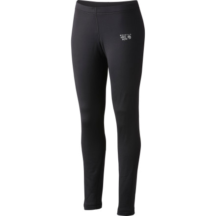 Climbing Slide into the Mountain Hardwear Women's Stretch Thermal Tight when frost covers your windows. This comfortable baselayer wears well beneath your shell or insulated pants while you ski, snowshoe, ice climb, or mountaineer. - $55.97