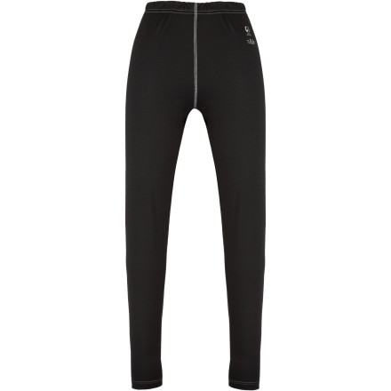 Made from a blend of merino wool and Cocona yarns derived from recycled polyester and coconut fiber, the Rab Women's MeCo 165 Bottom provides the next-to-skin comfort, warmth, and moisture control your lower half needs during high-exertion cold-weather activity. - $41.22