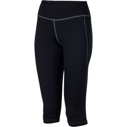 Why keep bunching up your full-length thermals around your boot cuffs' Go streamlined in the midweight Sessions Women's Dry Tech Capri Bottom, with plenty of coverage to keep you dry and warm without the bulk. Unless your riding socks are anklets, trim the fat and lighten the load with capris. - $25.98