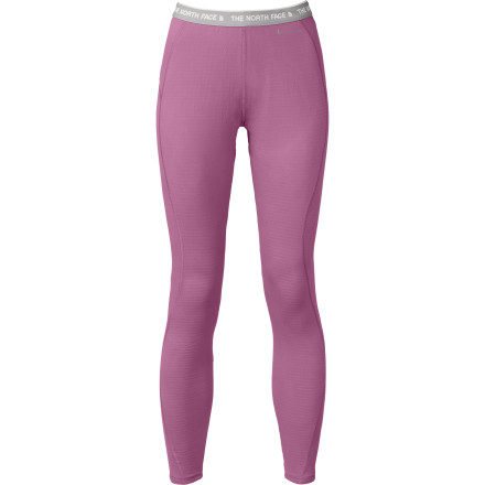 Ski Break the cycle of sweating and freezing on a frigid day on the skintrack with the help of the The North Face Women's Warm Tight. This midweight baselayer bottom features the new, innovative FlashDry technology that wicks and dries at lightning-fast speed to ensure your comfort during stop-and-go days on the mountain. - $49.95