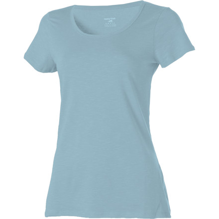 The world has enough junky chemicals mucking up the environment. Horny Toad designed the Women's Cedella Short-Sleeve Shirt using Tencel (it's made of wood pulp and it's totally biodegradable), organic cotton, and just a touch of spandex for flexibility. The lightweight, supremely soft fabric will feel great on your skin and on your conscience. - $22.98