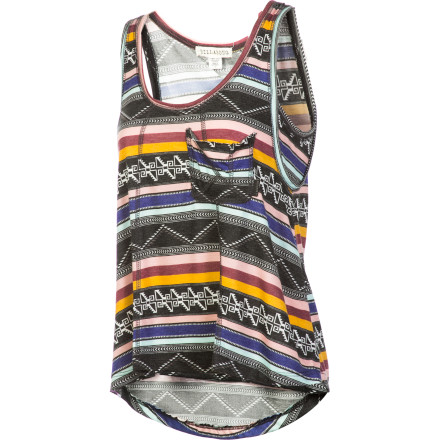 Surf Slip into your Billabong Women's Getaway Tank Top and mix yourself a margarita. Then, sit back on your porch and pretend you're hanging out on the Caribbean. It might not be quite the same as a real vacation, but you won't have to deal with getting lost in a foreign country or missing new episodes of your favorite reality show. - $23.56