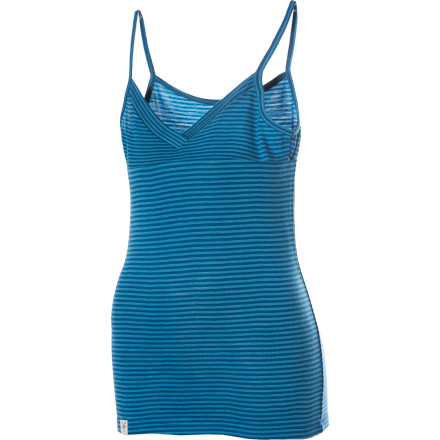 Ski The Ibex Womens Woolies Camisole wont get packed away no matter what season it is. Summer' Pull on this super soft, lightweight merino wool tank and head out for a hike. Winter' Layer the Woolies under a button-up for work or wear this slim-fit cami as a base layer for your ski day. The wool naturally blocks odor, manages moisture, and regulates your body temperature. - $29.98