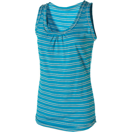 Camp and Hike Match your Icebreaker Superfine 200 Stripe Retreat Tank Top with your hiking shorts for an all-day trip through the mountains, then swap your shorts for a skirt, grab a sweater-wrap, and head out to dinner. - $32.48