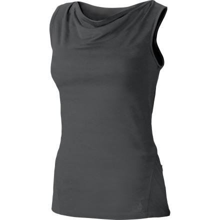 Surf Isis blended a feminine draped neckline with a sporty racerback cut to create the Moxie Tank. Throw performance DriRelease fabric with FreshGuard into the mix, and you have a highly wicking, quick-drying, breathable, odor-resistant sport tank that just happens to look very ladylike and classy at the same time. - $13.49