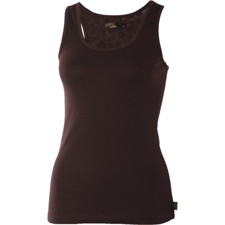 Fitness The prAna Women's Tempest Tank Top mixes an active, outdoorsy look with a sophisticated softness. The racerback cut is all about running, climbing, and yoga while the fact that it's made of lacy crochet makes you think of wearing it with great jewelry and a skirt. - $22.48