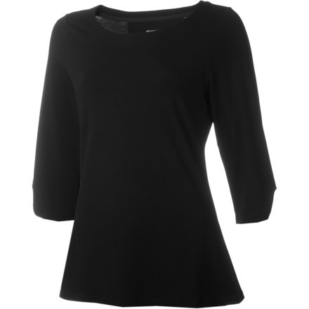 ExOfficio couldn't make made the Women's Go-To Boatneck 3/4-Sleeve Shirt any better for travel if it tried. The secret is a timeless design and the advanced DriRelease Go-To stretch knit, which offers unbeatable comfort and on-the-go wicking, odor-fighting performance. - $35.72