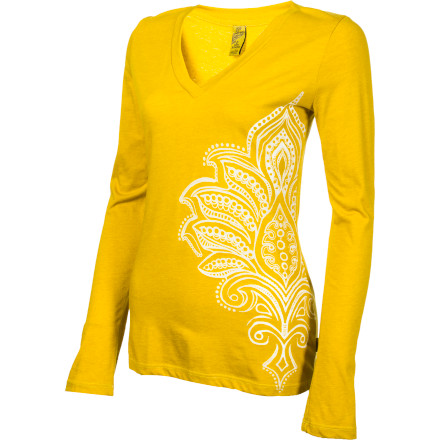 Fitness Start your day off with a power smoothie, a little yoga, and a sunny stroll to the bookstore down the street. The prAna Women's Hannah Long-Sleeve Top will keep you comfy and looking fabulous as you run errands, take it easy, and enjoy your one day a week when you're on your own schedule. - $32.97