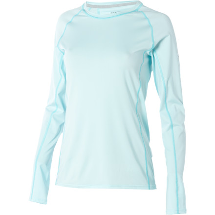 The ExOfficio Women's Sol Cool Long-Sleeve Crew features Icefil technology and UPF 50-rated fabric so you can spend the day enjoying the outdoors without worrying about overheating or getting burnt. - $38.50