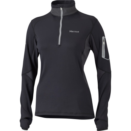 Deviate from the status-quo of performance tops with the Marmot Women's Deviate 1/2-Zip Top. The performance-proven fabric and superb fit might help you deviate from your aerobic norms as well. - $56.97