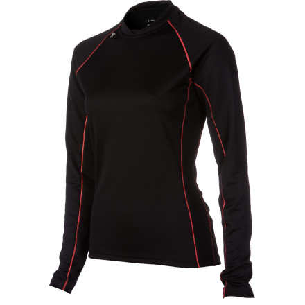 Ski Run, hike, or ski and you're going to work up a sweat; there's no avoiding it. The Stoic Women's Breathe 150 T-Shirt helps control the buildup of moisture while providing light insulation to keep you warm. It's ideally worn as a baselayer, but this long-sleeve could be your main layer for more mild pursuits like trail running in late spring or early fall, too. - $27.50