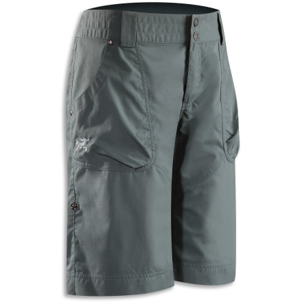 Climbing The crag is calling, so suit up in your Arc'teryx Women's Rana Long Short and answer. Boulder-laden playgrounds can entertain for hours, but only if you've got the right gear. A focus on mobility sets the Rana above the rest, and helps you on your way to the glorious send train. - $84.95