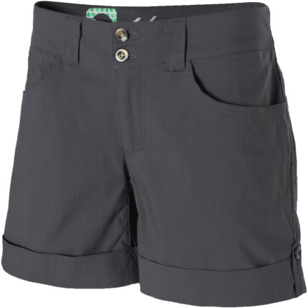 Wear the Blurr Women's Myra Shorts while you scramble over rocks and explore ancient ruins. - $26.38