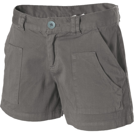 The Carve Designs Women's Emery Short gives you a low-key casual look as you roam around ancient ruins, barter with locals, and eat authentic Mexican cuisine. - $33.98