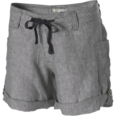 The Horny Toad Women's Lithe Short is the ideal short for lounging in the hammock, watching clouds roll by while you lounge on the grass, or for picking fresh strawberries. - $67.95