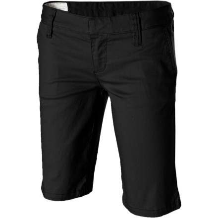 Surf Skimpy short shorts are great and all, but sometimes you need something a little more tame, especially when youre meeting your guys parents for the first time or interviewing for a job. With the Hurley Womens Lowrider YC Bermuda Short, you wont have to compromise your style thanks to this ultra-hip low-rise short. - $20.98