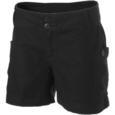 Camp and Hike Whether you are hiking the hills outside of town or exploring the concrete jungle, get your legs into the Kavu Women's Sumatra Shorts. These bottoms have an adventurous look and are designed to stand up to both the harshness of the wild and the harshness of fashion critics. - $24.98