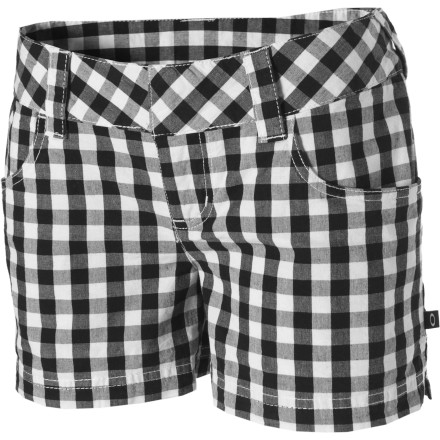 Wear the Oakley Women's Buzzin' Shorts when you want to turn up the volume on your summer style. These sexy little shorts are comfy and versatile so you can wear them with just about anything. - $21.00