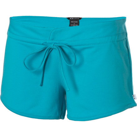 Turn your phone off and slip into your Oakley Women's Swirly Shorts. While your friends are out buying themselves hangovers for tomorrow morning, you'll be cozy at home with a bit of red wine and your favorite old movie. - $12.00