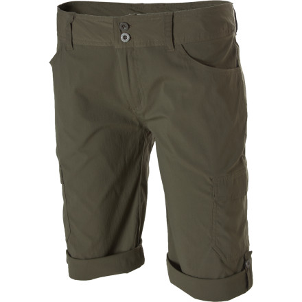At first, it seems that the quick-drying, stretchy material is what makes the Patagonia Women's Solimar Short ideal for a traveler like you. But, after close examination, you'll find that the added DWR finish, sun protection, longer leg cut, and added pockets are what really make the Solimar the ideal short for local and destination adventures. Roll the legs up when you need to cool off in a stream or you just feel like getting a little extra vitamin D in your vacation diet. - $69.00