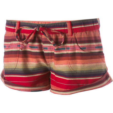 Surf Slide into the Roxy Shore Shot 2 Shorts and go spend some quality time in the sand, on the pool deck, or in the hammock out back. - $24.48
