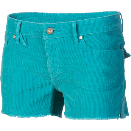 Surf Slip on the Roxy Women's Surfer Storms Short, grab your wallet, and head to the bagel shack for a much-needed breakfast to start off your day. - $25.58