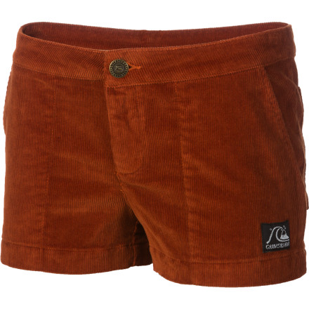 Surf The Quiksilver Women's Classic Cord Short is great for sipping beer at outdoor concerts and back-patio hangouts when you want to get a little sun on your legs. - $24.75