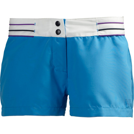 Surf When you've traded in your winter gear for sailing shoes and beach umbrellas, put on the Helly Hansen Women's Hydro Power Trunk for sunny days spent in the sand and surf. Complete with a stylish low cut that accentuates a casual fit and feel, the Hydro Power Trunk relaxes as readily as it tackles whitecaps with you. - $32.48
