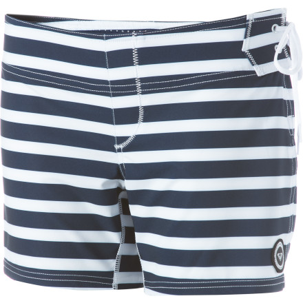 Surf Don't be fooled by the fun details on the Roxy Against The Tide Fall Swell Board ShortsRoxy made these shorts with surf-specific features so your bottom half stays comfortable as you catch wave after wave. - $33.80