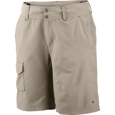 Climbing The Columbia Women's Silver Ridge Short helps you get to the summit, campsite, or trailhead in flattering style and supreme comfort. - $19.98